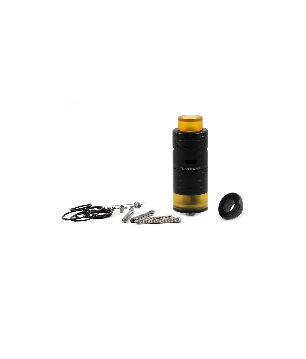 Vapor Giant Extreme Black Edition RTA Verdampfer Top Coiler Selbstwickler Tank - Lieferumfang