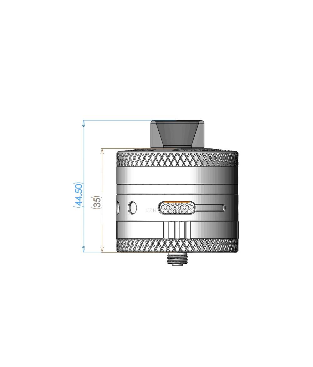 Steam Crave Aromamizer Titan RDTA Selbstwickler Tank Verdampfer - als tröpfler