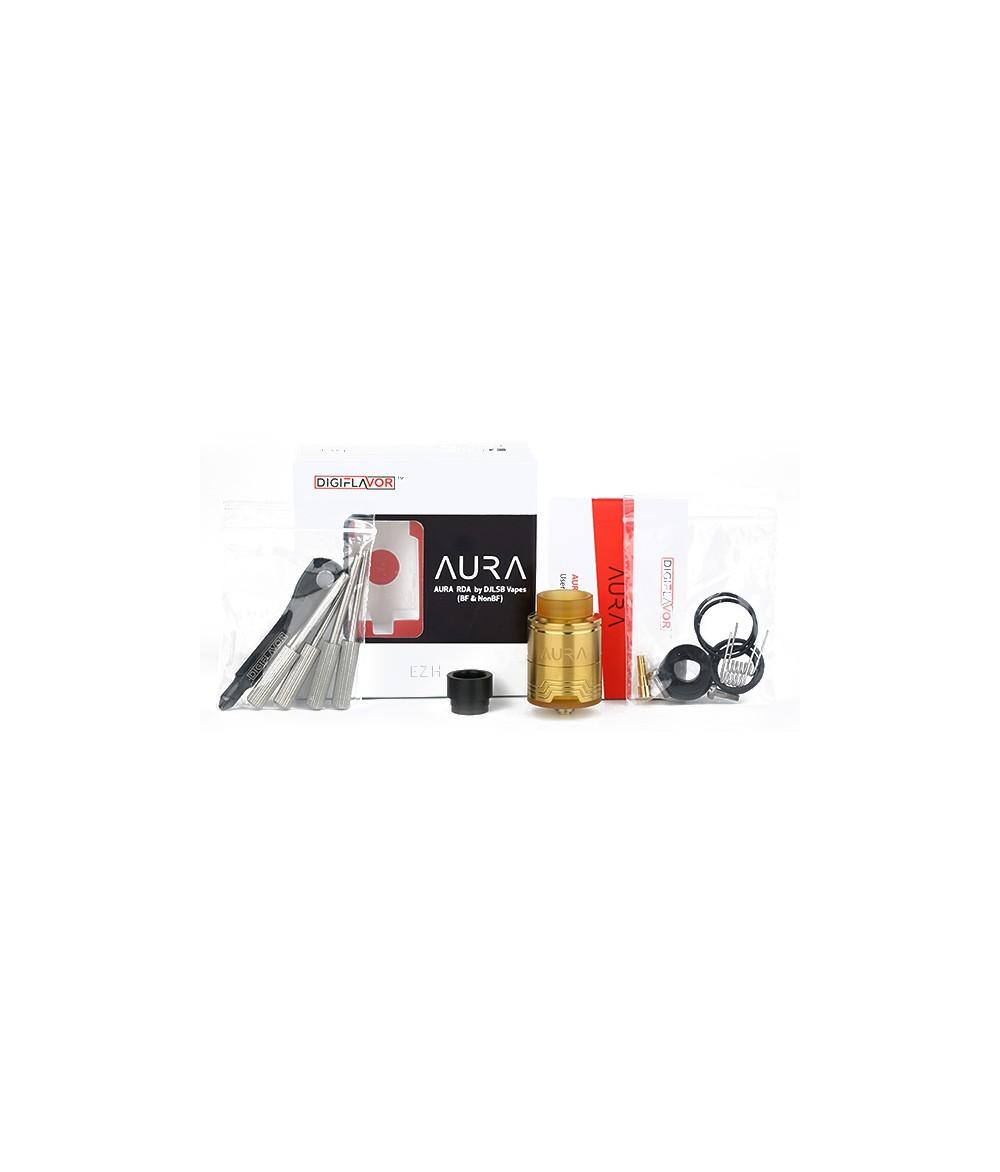 Digiflavor Aura RDA Selbstwickler Tröpfler schwarz - B-Ware - lieferung