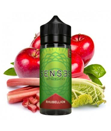 SENSES by Six Licks Rhubellion Premium Liquid 100 ml - Boosted Liquid Shake and Vape