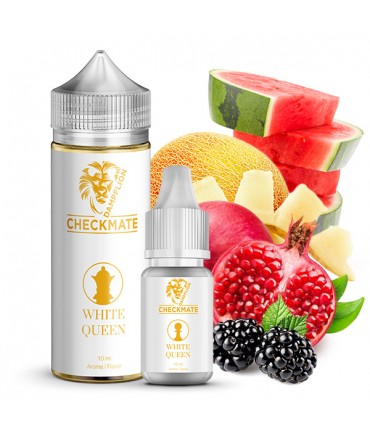 Dampflion CHECKMATE White Queen Aroma 10ml in 120ml Bottle Shake and Vape