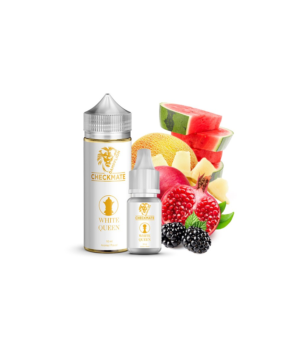 Dampflion CHECKMATE White Queen Aroma 10ml in 120 ml Flasche Shake and Vape