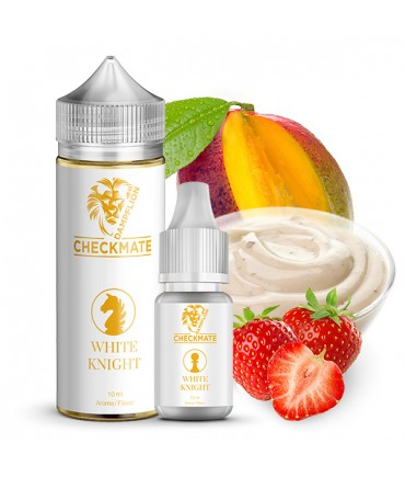 Dampflion CHECKMATE White Knight Aroma 10ml in 120ml Bottle Shake and Vape
