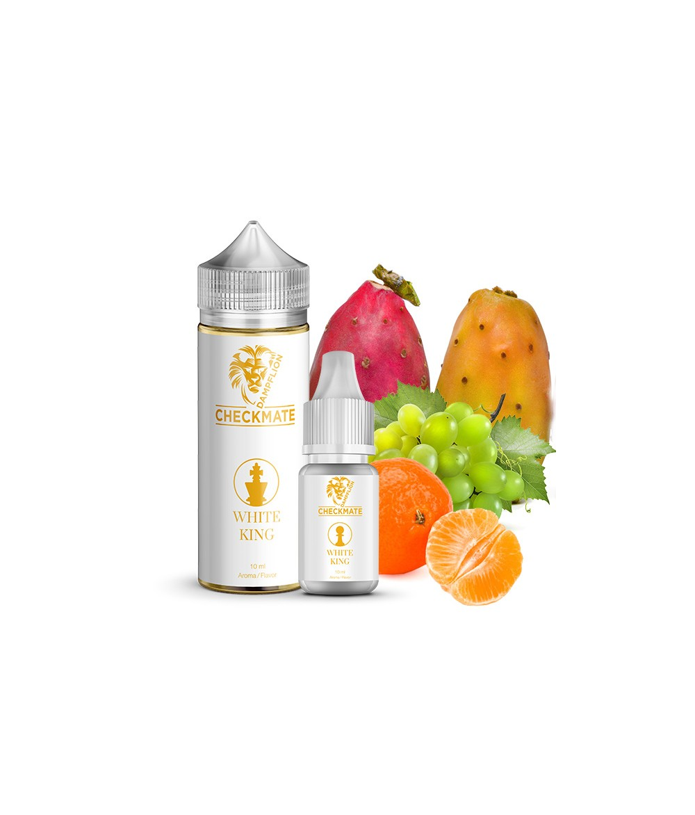Dampflion CHECKMATE White King Aroma 10ml in 120 ml Flasche Shake and Vape