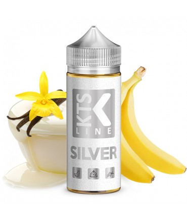 KTS Line Silver Aroma 30ml in 120ml Bottle Shake and Vape