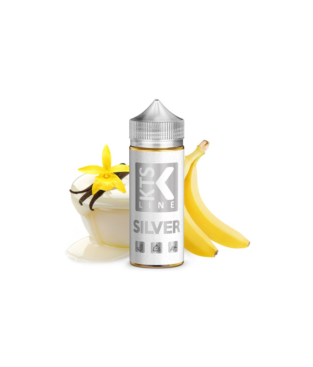KTS Line Silber Aroma 30ml in 120 ml Flasche Shake and Vape