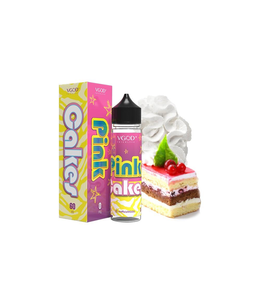 VGOD Pink Cakes US Premium Liquid 50 ml - Boosted Liquid Shake and Vape