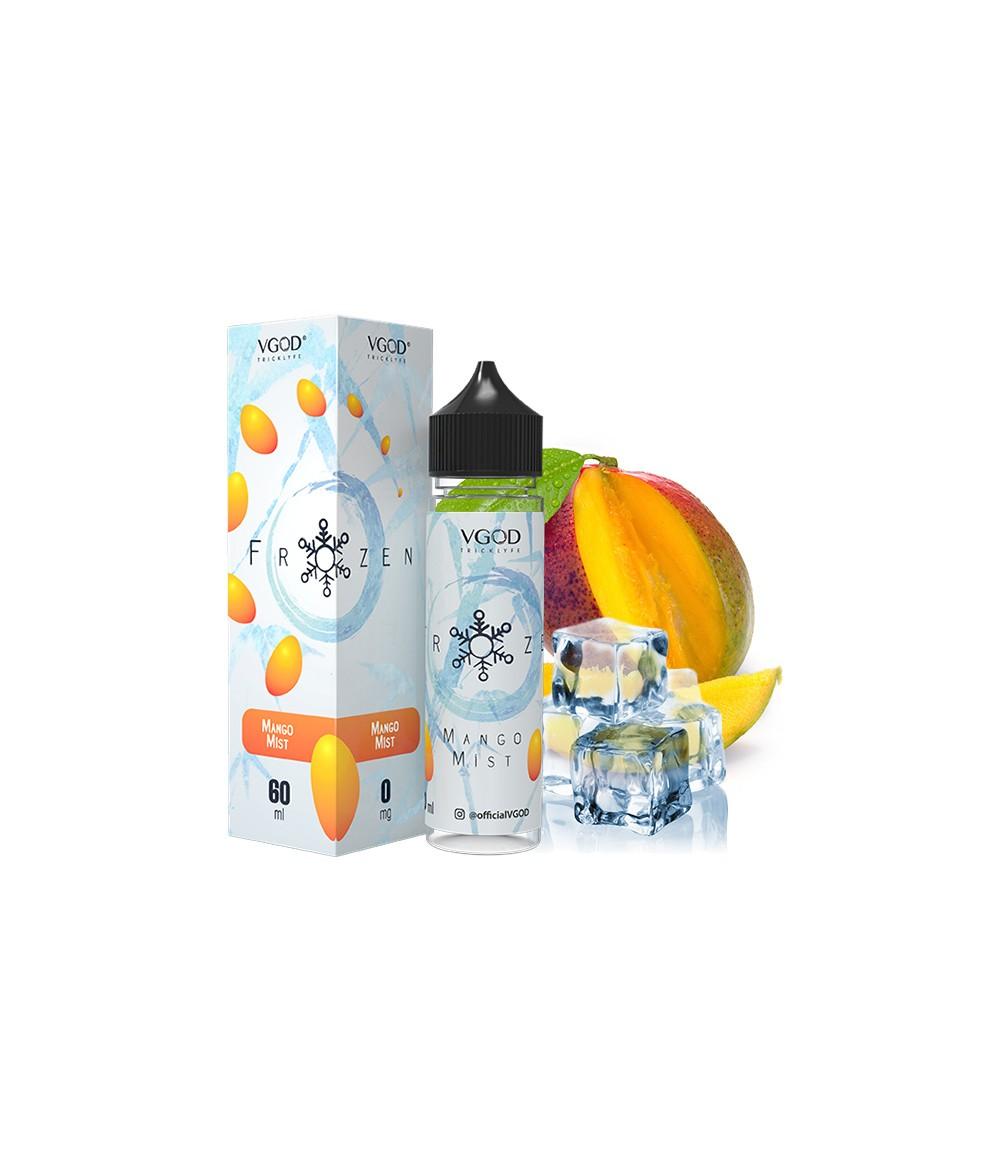 VGOD Frozen Mango Mist US Premium Liquid 50 ml - Boosted Liquid Shake and Vape