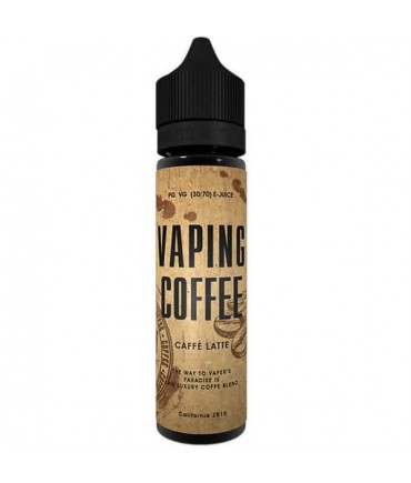 VoVan Vaping Coffee Cafe Latte Liquid 50 ml - Boosted Liquid Shake and Vape