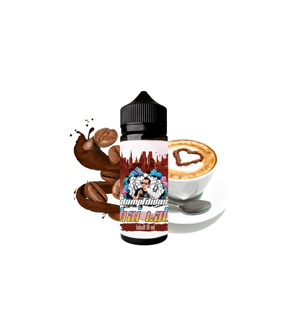 Dampfdidas Chai Latte Aroma 18ml in 120 ml Flasche Shake and Vape