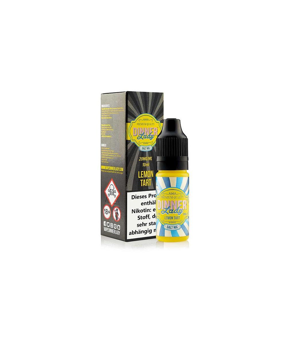 Dinner Lady Lemon Tart Nikotinsalz Premium Liquid 10 ml - NicSalt 20 mg/ml