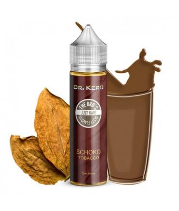 Dr. Kero X The Bro's  Schoko Tobacco Aroma 10ml in 60 ml Flasche Shake and Vape