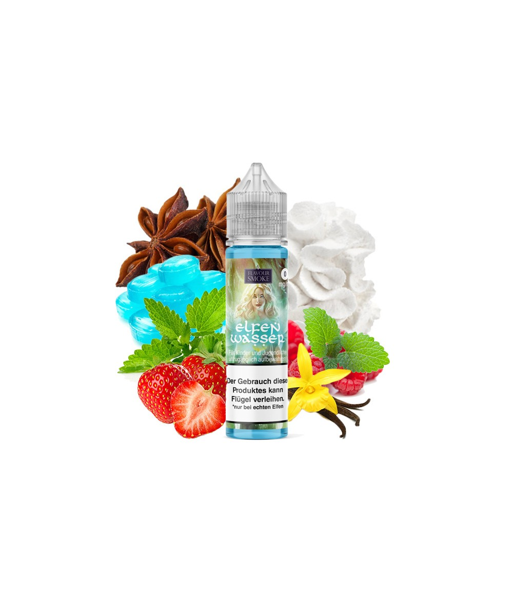 Flavour Smoke Elfenwasser Aroma 20ml in 60ml Flasche Shake and Vape