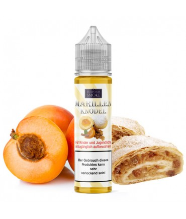 Flavour Smoke Marillenknödel Aroma 20ml in 60 ml Flasche Shake and Vape