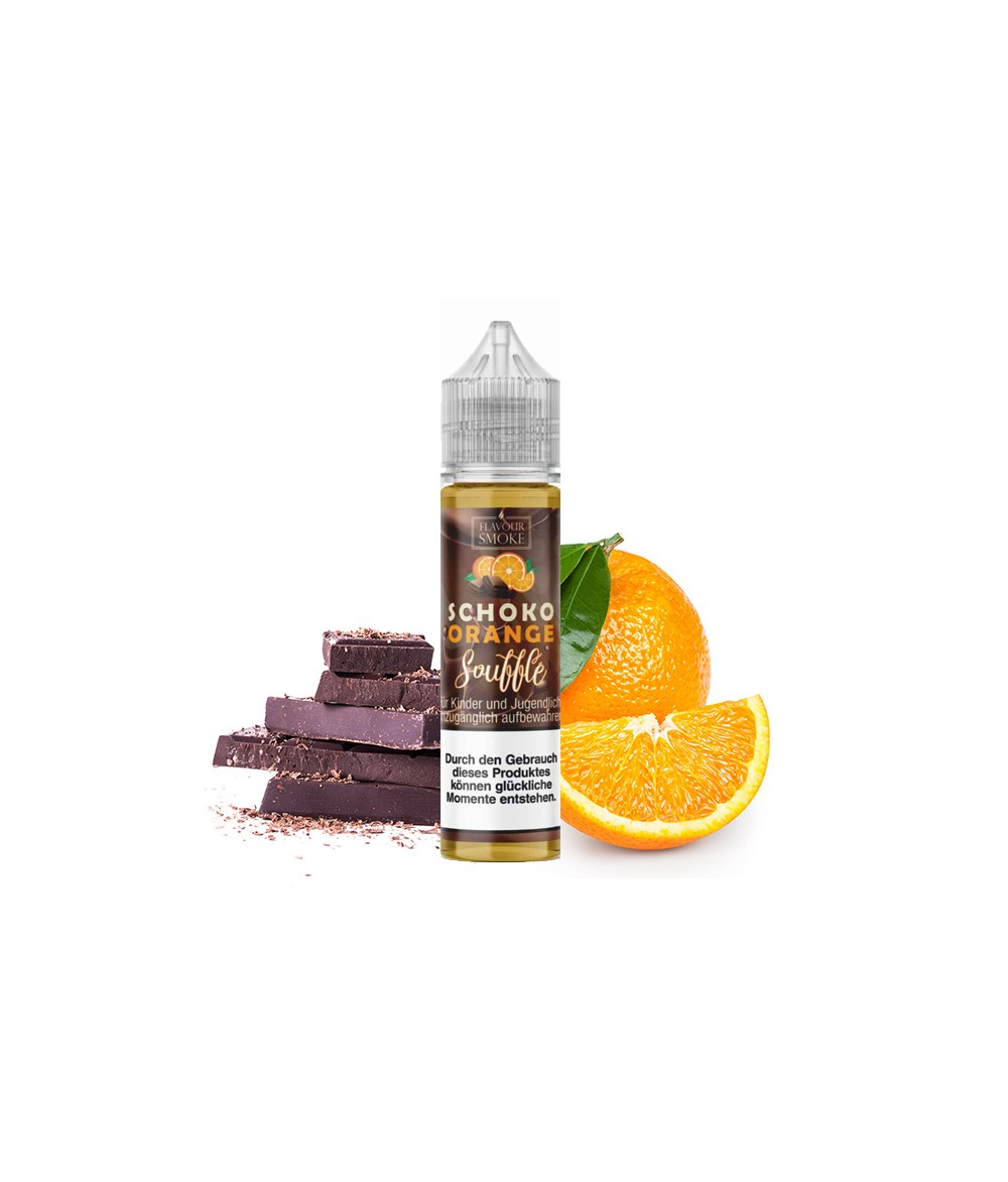 Flavour Smoke Schoko-Orange Souffle Aroma 20ml in 60 ml Flasche Shake and Vape