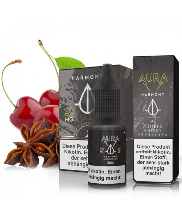 AURA Harmony Nikotinsalz Liquid 10 ml - NicSalt 20 mg/ml