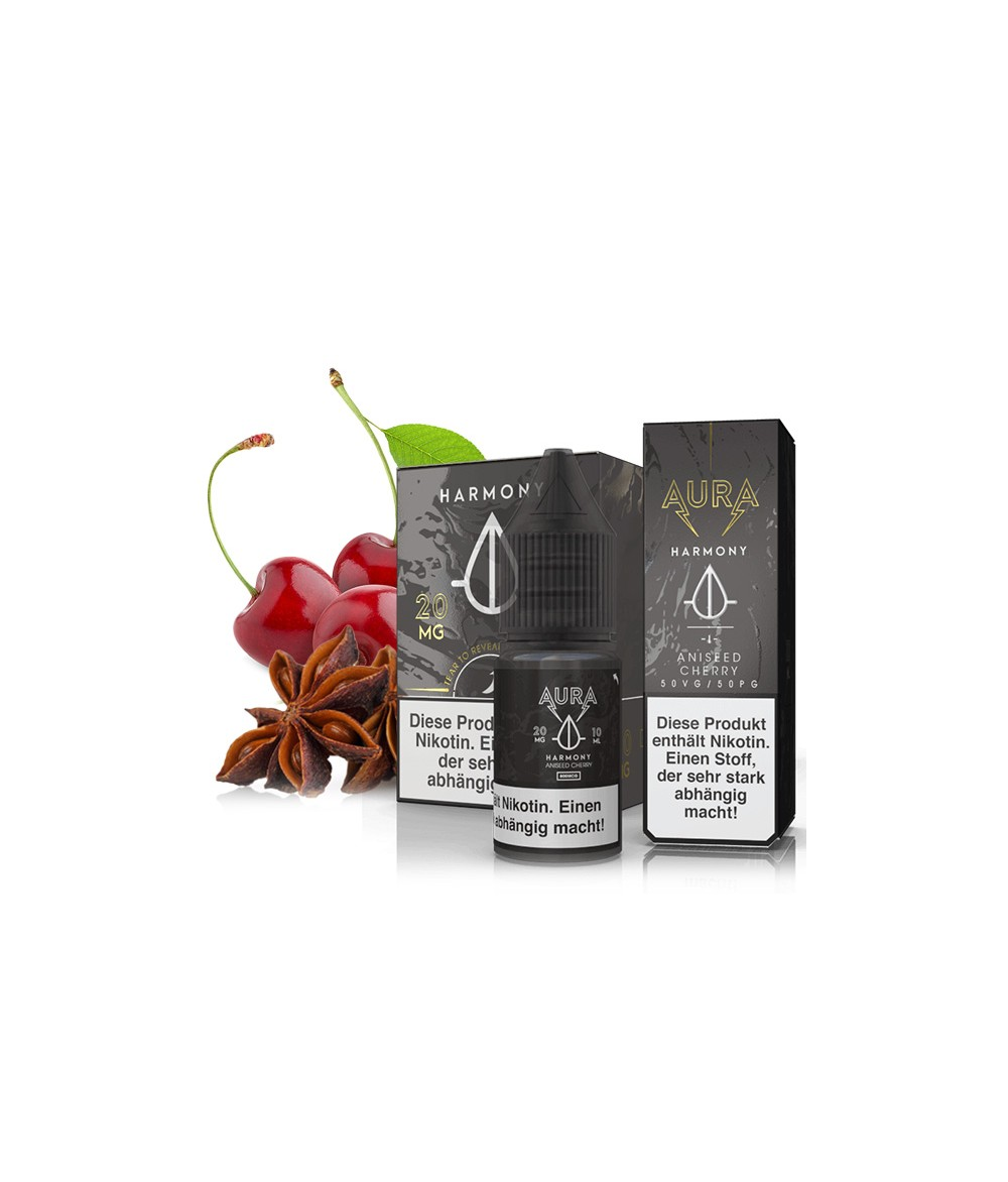 AURA Harmony Nikotinsalz Liquid 10 ml - NicSalt 20 mg/ml