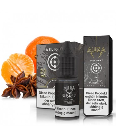 AURA Delight Nicotine Salt Liquid 10 ml - NicSalt 20 mg/ml