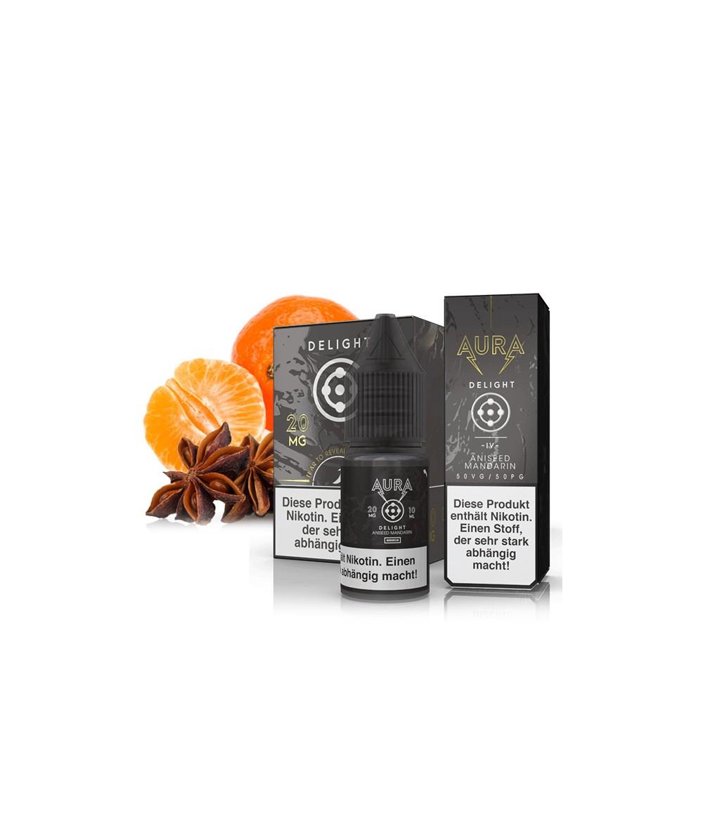 AURA Delight Nikotinsalz Liquid 10 ml - NicSalt 20 mg/ml