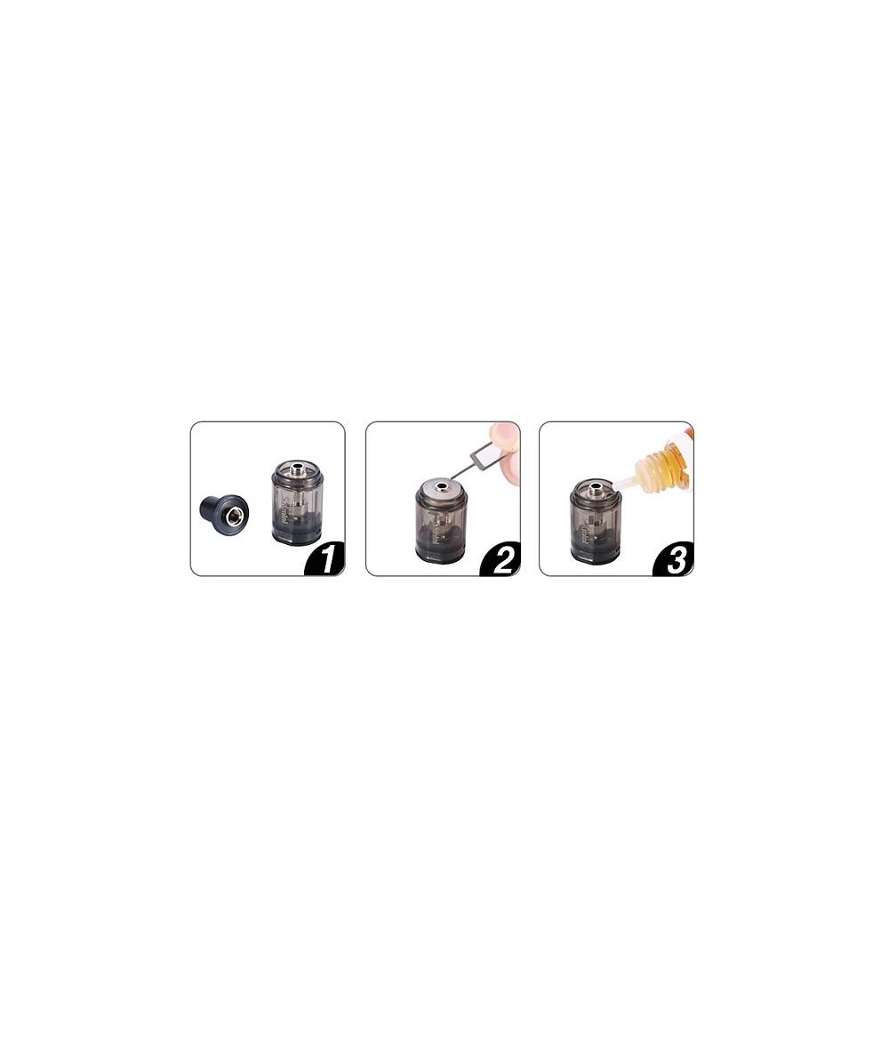SX Mini Mi Class Kit Pod System MTL Backendampfer - top filling
