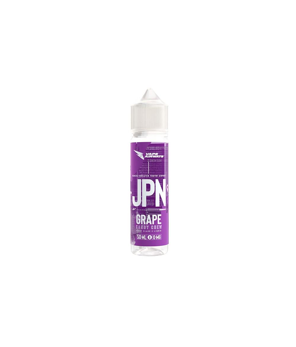 VAPE AIRWAYS JPN Grape Candy Chew UK Premium Liquid 50 ml - Boosted Liquid Shake and Vape