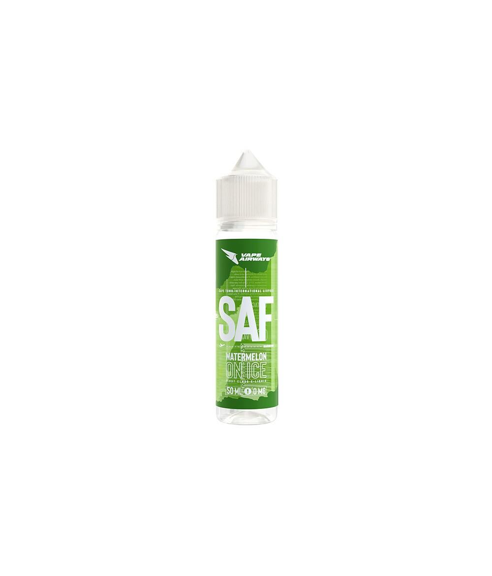 VAPE AIRWAYS SAF Watermelon on Ice UK Premium Liquid 50 ml - Boosted Liquid Shake and Vape