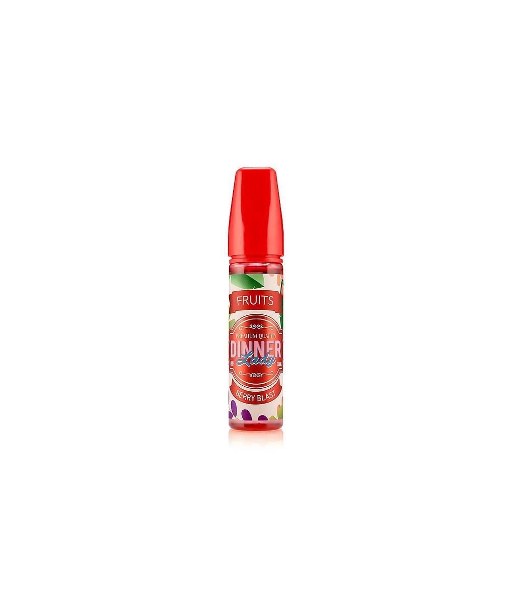Dinner Lady Fruits Berry Blast Premium Liquid 50 ml - Boosted Liquid Shake and Vape