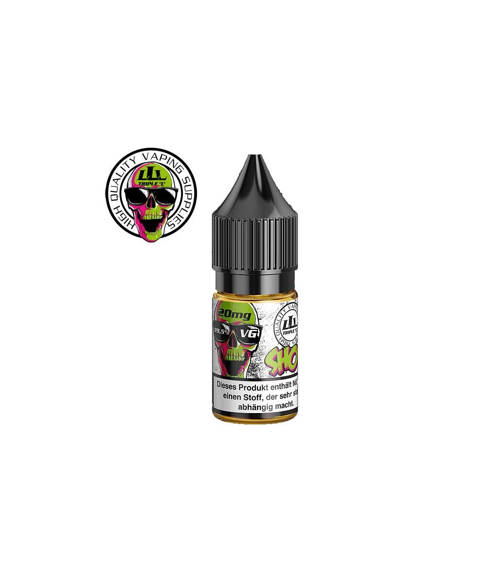 Triple L Nikotinshot 100 VG mit 20mg Nikotin