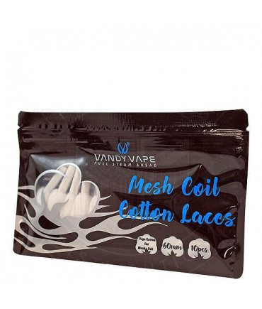 Vandy Vape M Coil Cotton Laces Sticks - Wickelwatte Baumwollwatte