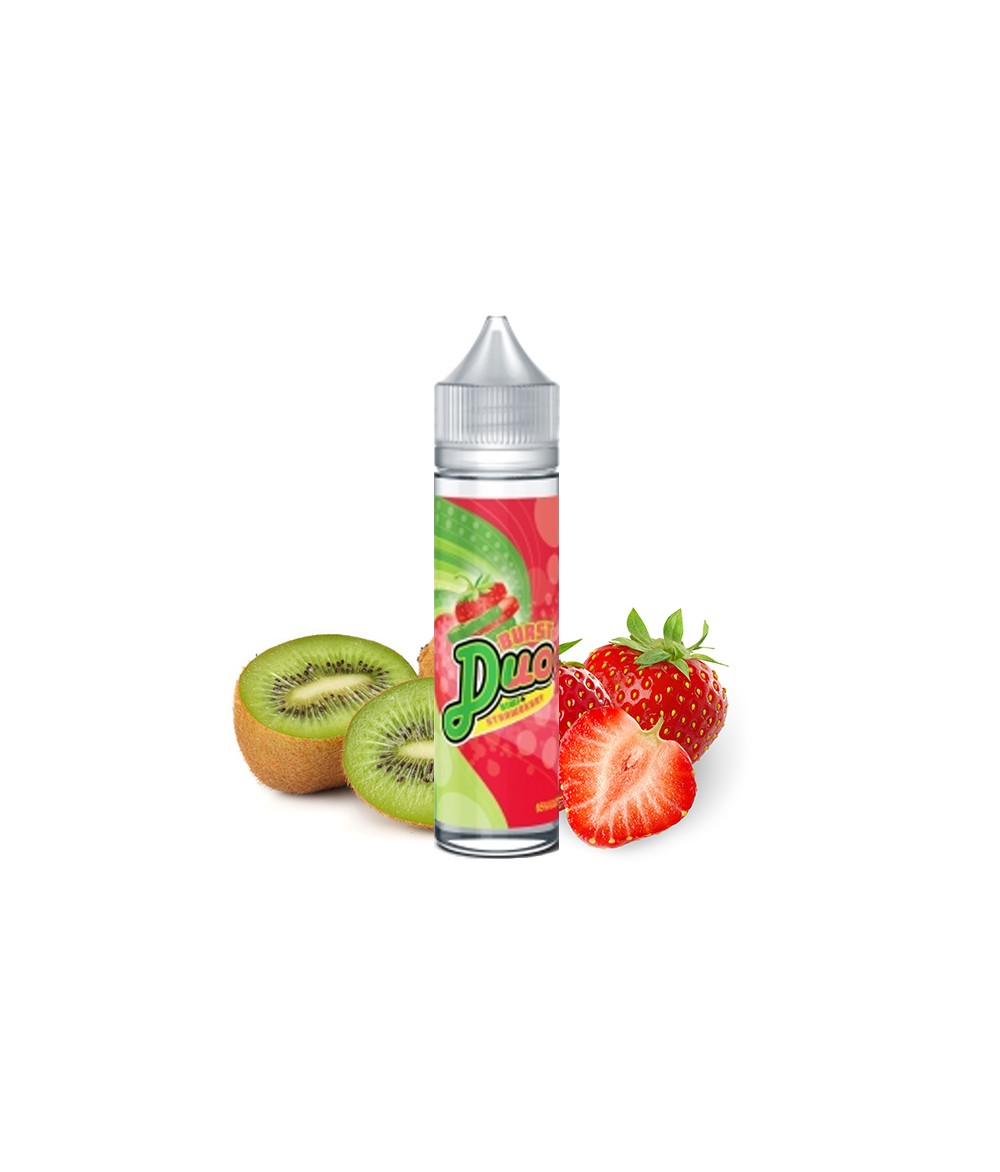BURST DUO Kiwi Strawberry Aroma 10ml in 60 ml Flasche Shake and Vape