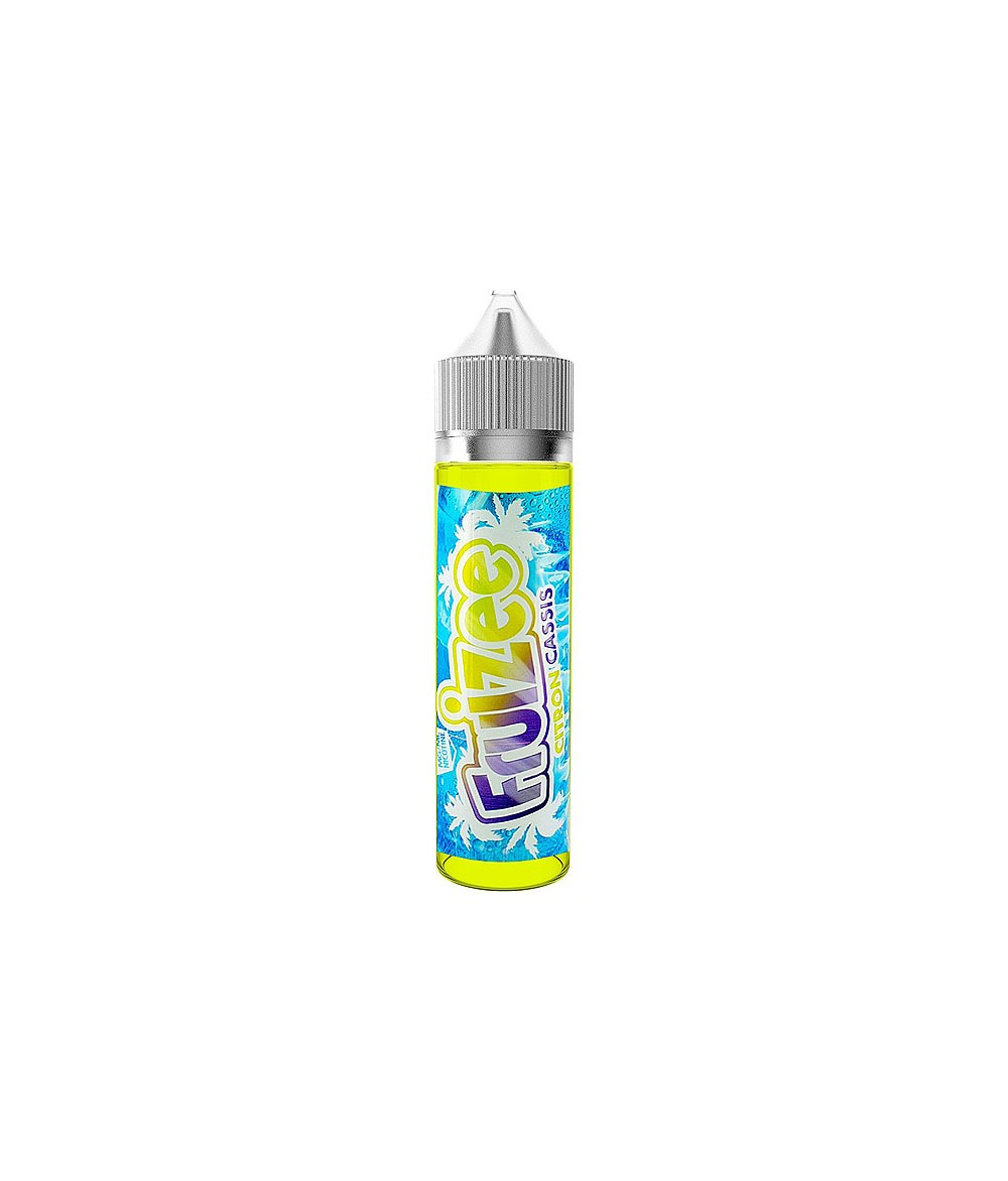 ELiquid France Lemon Blackcurrant Premium Liquid 50 ml - Boosted Liquid Shake and Vape