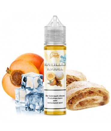 Flavour Smoke Marillenknödel Ice Aroma 20ml in 60 ml Flasche Shake and Vape