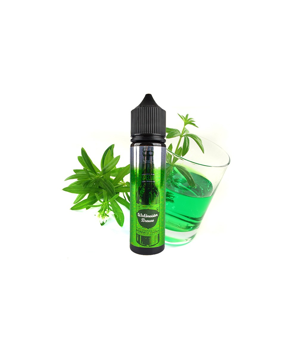 BRAUSE by Smokerstore Waldmeister Aroma 20ml in 60 ml Flasche Shake and Vape