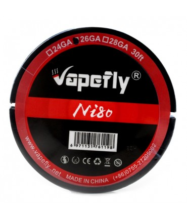 Vapefly 10 meters Ni80 26GA winding wire NiCr