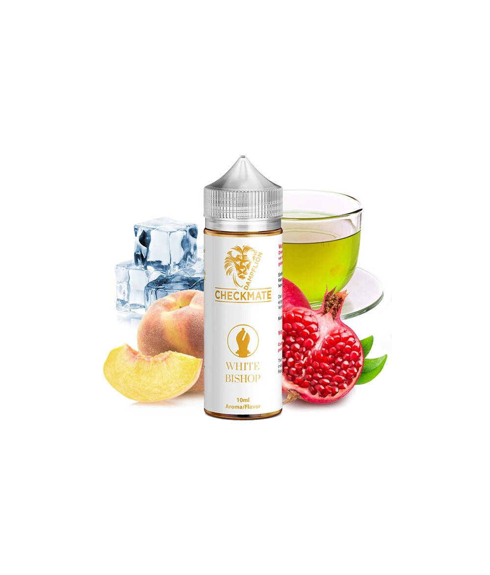 Dampflion CHECKMATE White Bishop Aroma 10ml in 120 ml Flasche Shake and Vape