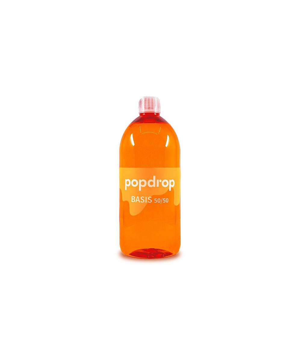 PopDrop Base - 50 VG/50 PG - 1000 ml mit 0 mg zum mischen