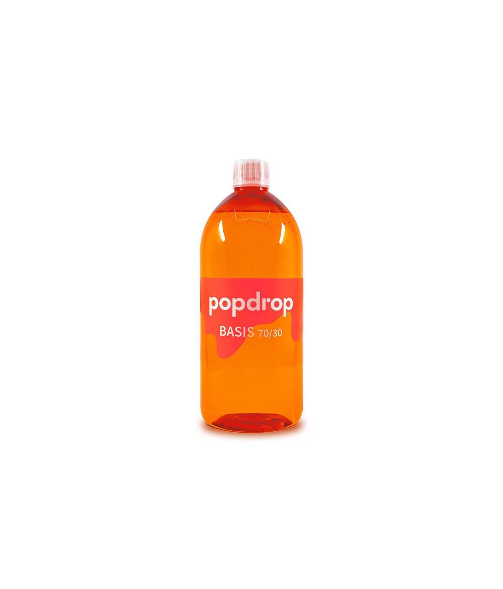 PopDrop Base - 70 VG/30 PG - 1000 ml mit 0 mg zum mischen