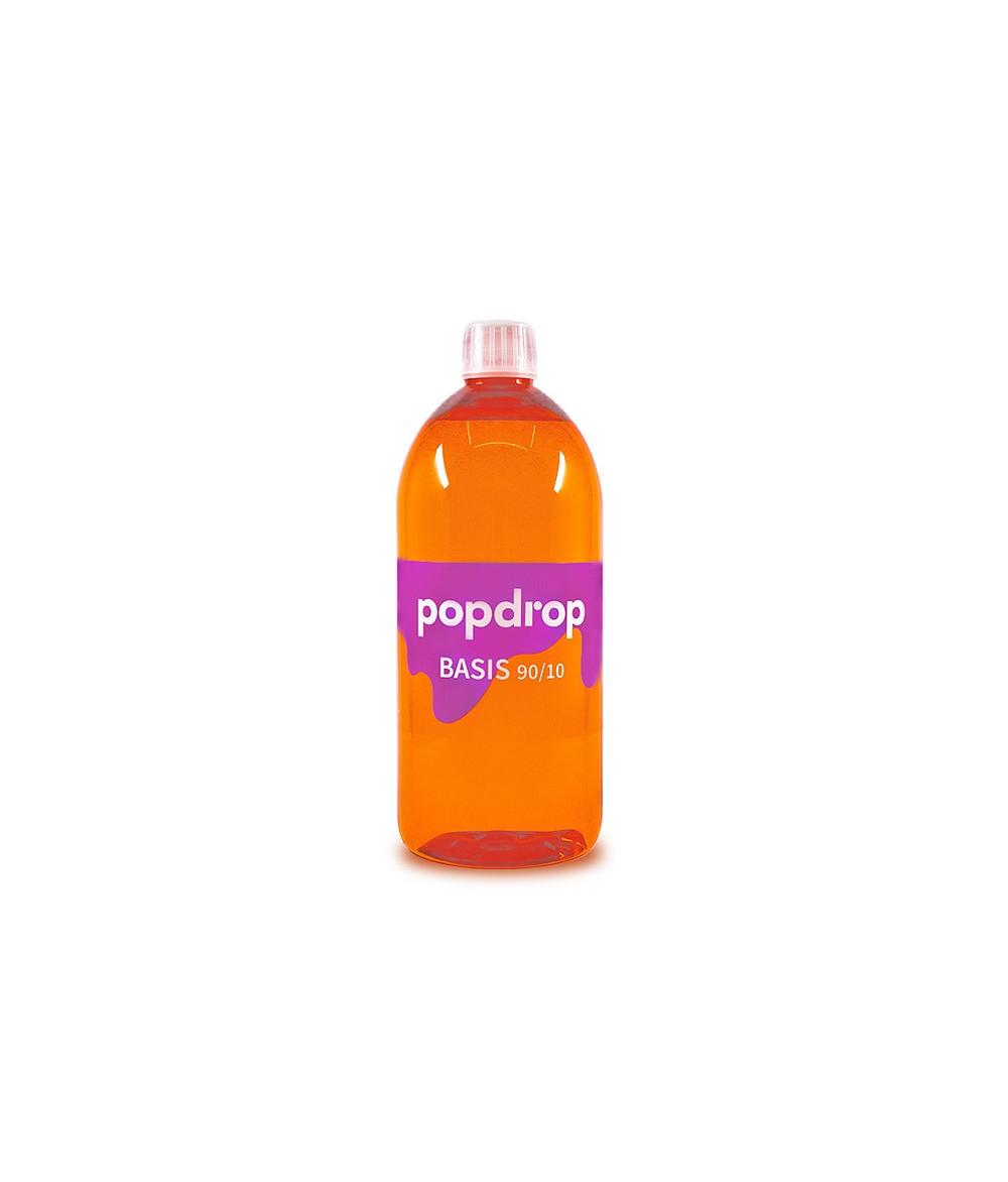 PopDrop Base - 90 VG/10 PG - 1000 ml mit 0 mg zum mischen