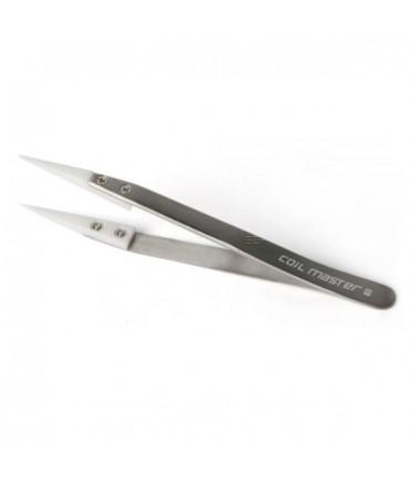 Coil Master Keramikpinzette Tweezers Wickelhilfe für Micro Coils und Watte