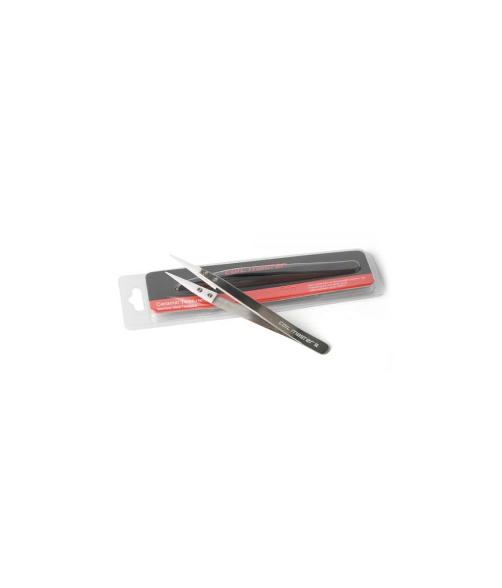 Coil Master Keramikpinzette Tweezers Wickelhilfe für Micro Coils und Watte - Lieferung