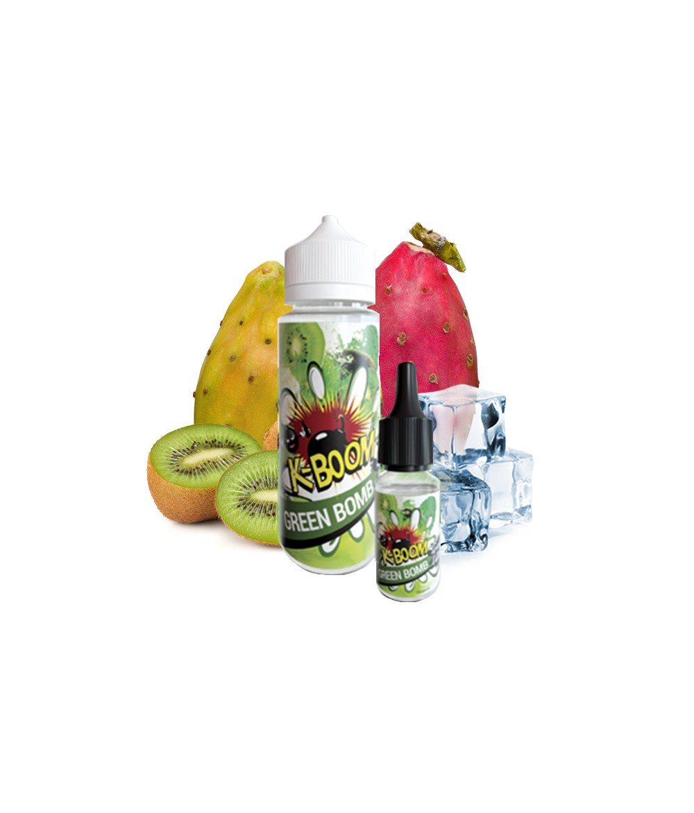 K-BOOM Green Bomb Aroma 10ml in 120 ml Flasche Shake and Vape