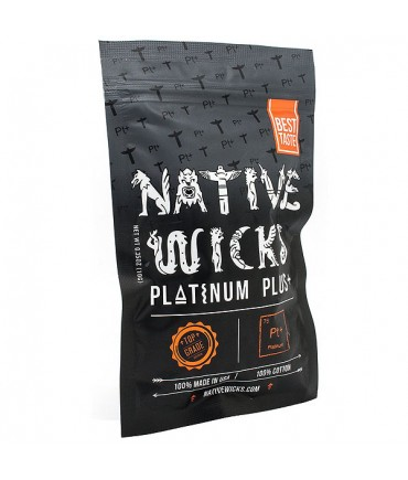 Native Wicks Platinum Plus Cotton - Wickelwatte - Baumwollwatte