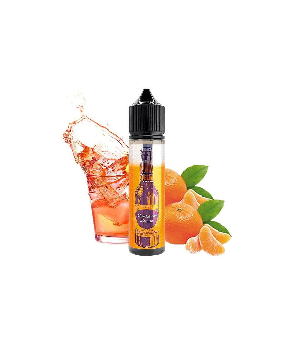 BRAUSE by Smokerstore Mandarine Aroma 20ml in 60 ml Flasche Shake and Vape
