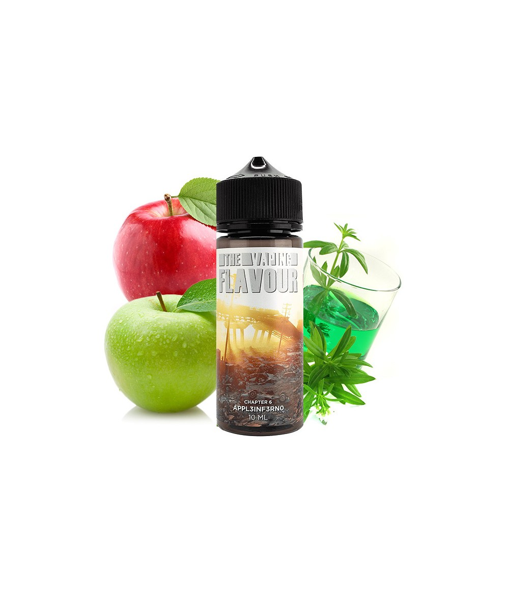 The Vaping Flavour Chapter 6 Appl3inf3rno Aroma 10ml in 120 ml Flasche Shake and Vape