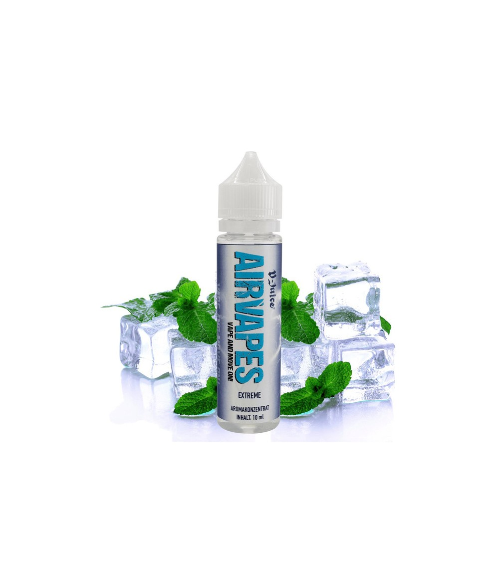 Airvapes by V-Juice Extreme Aroma 10ml in 60 ml Flasche Shake and Vape