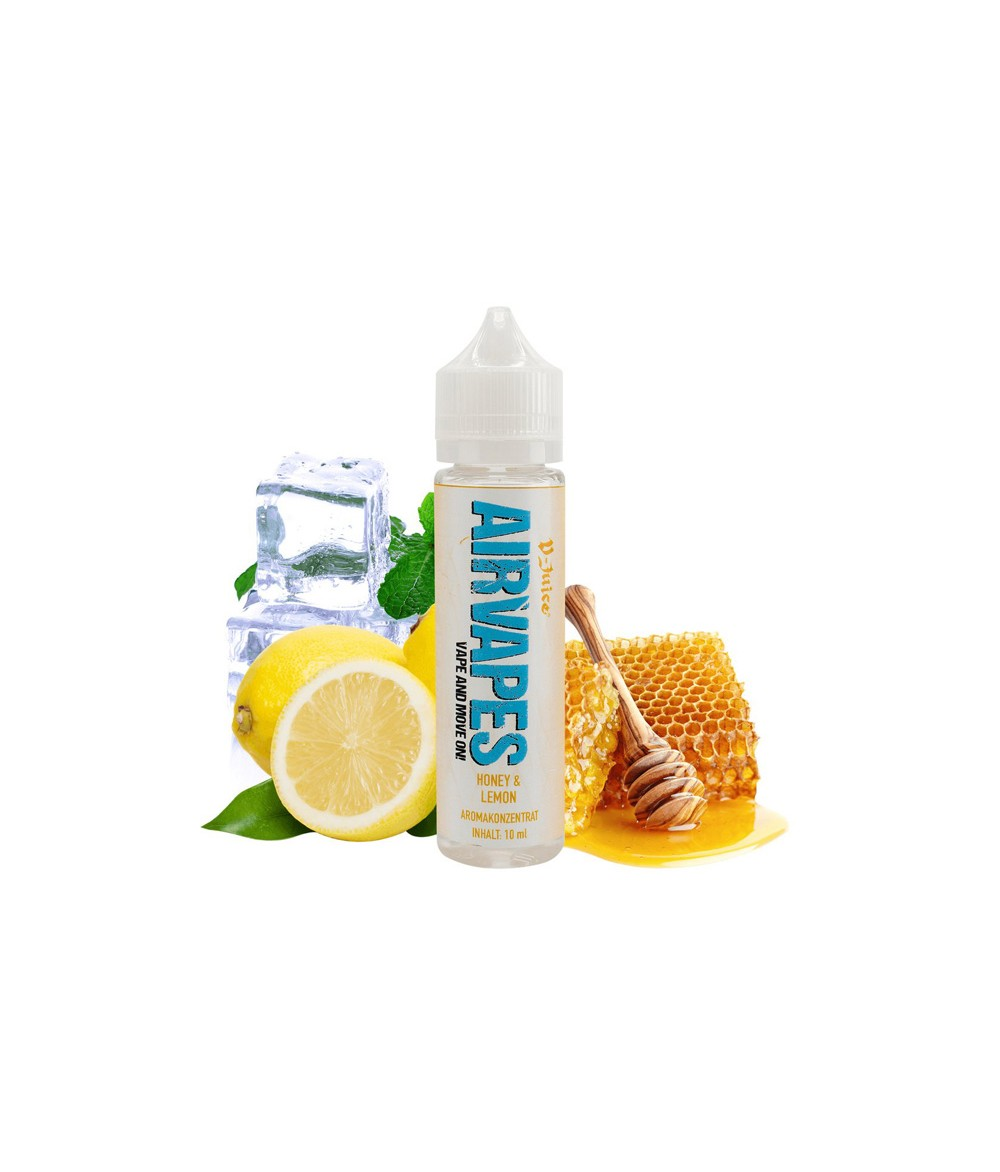 Airvapes by V-Juice Honey Lemon Aroma 10ml in 60 ml Flasche Shake and Vape