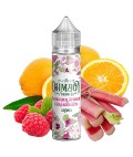 Ohmboy Rhabarber, Himbeere & Orangenblüte Aroma 20ml in 60 ml Flasche Shake and Vape