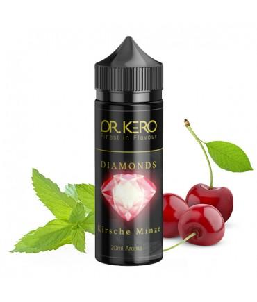 Dr. Kero Diamonds Cherry Mint Aroma 20 ml in 120 ml Bottle Shake and Vape