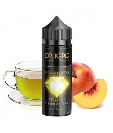 Dr. Kero Diamonds Pfirsich Grüner Tee Aroma 20 ml in 120 ml Flasche Shake and Vape