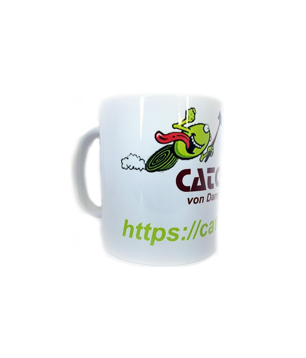 Catch Get It von Dampfern für Dampfer Kaffee Becher Fan Tasse Keramiktasse